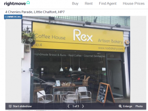 Is Rex Bakery up for sale?